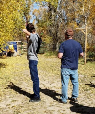Phillip & Drew at the Overthrust Gun Range